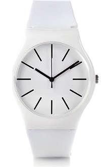 DM LONDON Round plastic watch