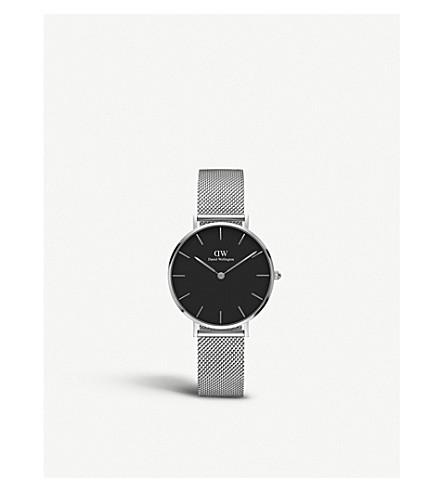 DANIEL WELLINGTON 经典娇小不锈钢腕表
