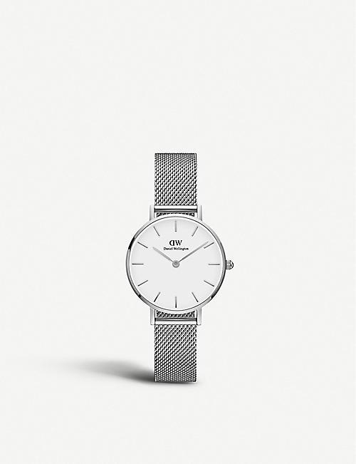 DANIEL WELLINGTON Petite Sterling stainless steel watch 28mm