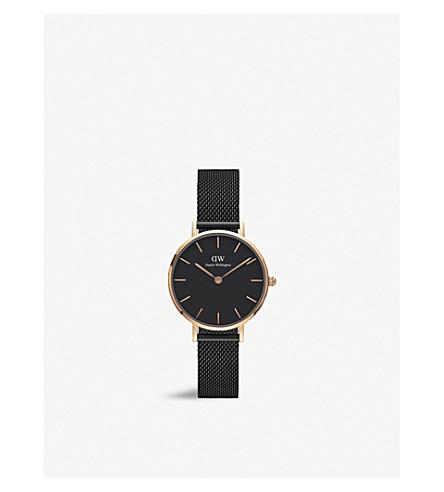 DANIEL WELLINGTON DW00100245 Ashfield Petite rose gold-plated watch