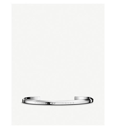 DANIEL WELLINGTON Classic Cuff stainless steel bracelet large