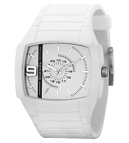 DIESEL DZ1321 silicone watch (White