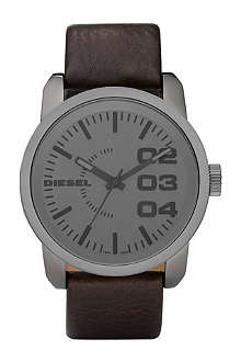 DIESEL DZ1467 Franchise leather watch