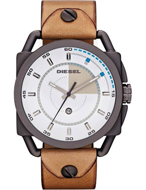 DIESEL DZ1576 leather watch