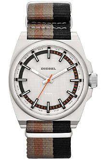 DIESEL DZ1633 stripe strap watch