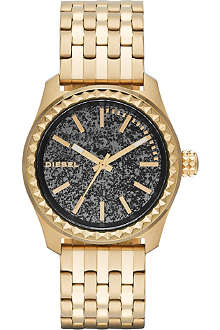 DIESEL DZ5405 Kray Kray 38 gold-plated watch