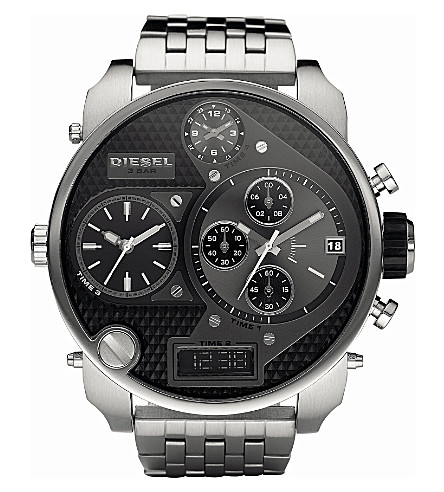 DIESEL DZ7221 Multi Dial stainless steel watch (Black