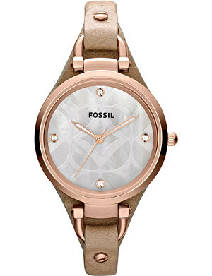 FOSSIL Mother of pearl womens watch ES3151