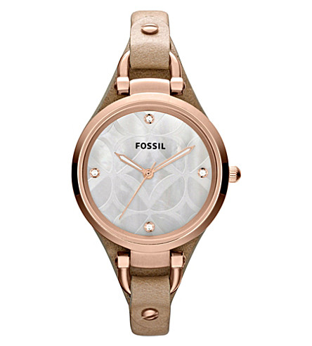 FOSSIL Mother of pearl womens watch ES3151 (Mother-of-pearl