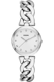 FOSSIL Silver bracelet watch ES3390