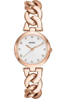 FOSSIL Rose gold watch ES3392