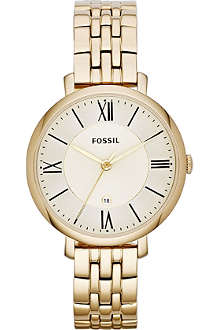 FOSSIL ES3434 Jacqueline gold-plated watch