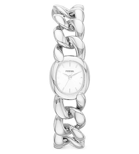 FOSSIL ES3458 Curator silver watch (Silver