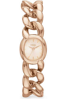 FOSSIL ES3459 Curator rose gold watch