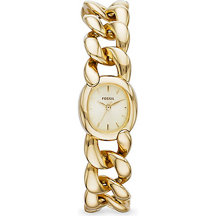 FOSSIL ES3460 Curator gold watch (Gold