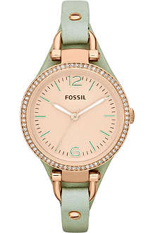 FOSSIL ES3467 Gerogia rose gold watch