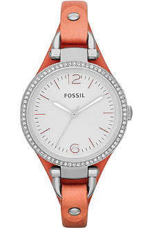 FOSSIL ES3468 Georgia leather watch