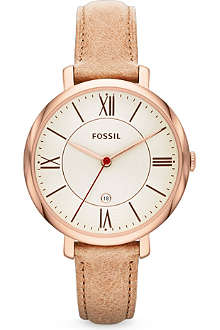 FOSSIL ES3487 Jacqueline leather watch