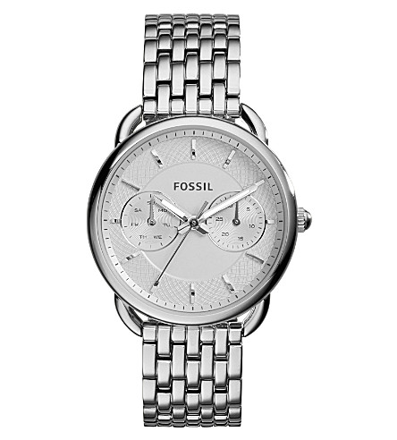 FOSSIL ES3712 Tailor stainless steel watch (Silver