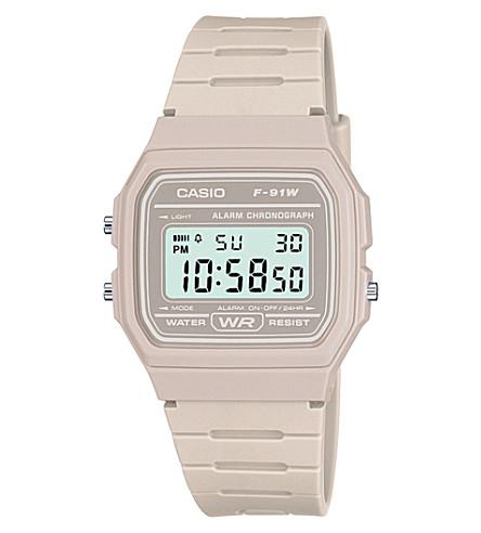 CASIO f-91wc-8aef classic rubber watch (Lcd