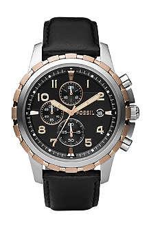 FOSSIL FS4545 Dean stainless steel watch