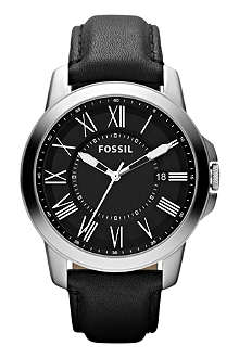 FOSSIL FS4745 Grant leather watch