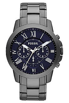 FOSSIL FS4831 stainless steel chronograph watch