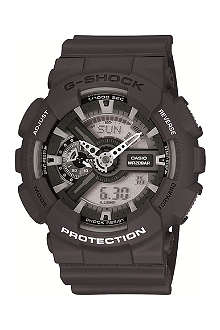 G-SHOCK GA110C1AER resin chronograph watch
