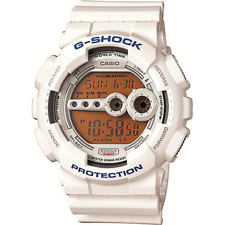 G-SHOCK GD100SC7ER Digital resin watch