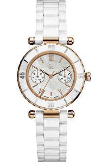 GC I42004L1 Diver Chic ceramic chronograph watch