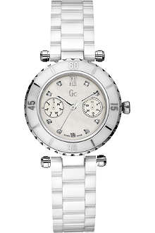 GC I46003L1 mother-of-pearl dial bracelet watch