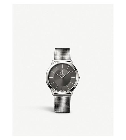 CALVIN KLEIN K3M21124 最小不锈钢腕表