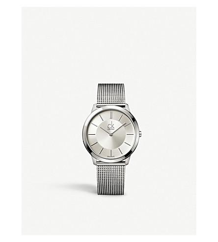 CALVIN KLEIN K3M21126 最小不锈钢腕表