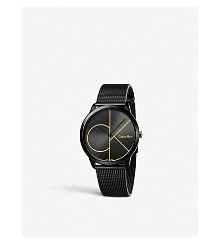 CALVIN KLEIN K3M214X1 Minimal ion-plated steel watch