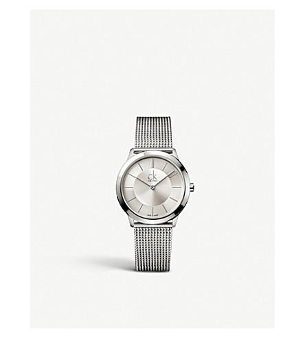 CALVIN KLEIN K3M22126 Minimal stainless steel watch