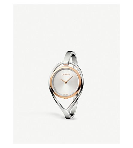 CALVIN KLEIN K6L2MB16 Light Medium Bangle stainless steel watch