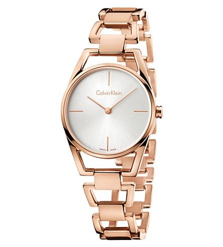 CALVIN KLEIN K7L23646 Dainty stainless steel watch