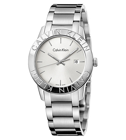 CALVIN KLEIN K7Q21146 Steady stainless steel watch