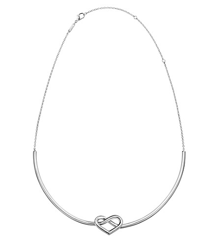 CALVIN KLEIN Charming stainless steel heart choker