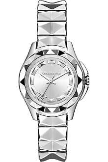 KARL LAGERFELD WATCHES KL1025 Karl 7 silver-toned watch