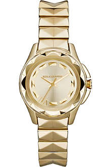KARL LAGERFELD WATCHES KL1026 Karl 7 gold-toned watch