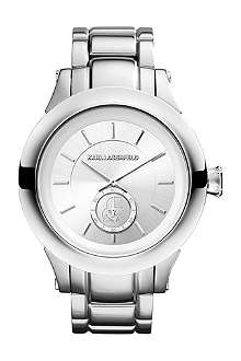 KARL LAGERFELD WATCHES KL1203 round stainless steel watch