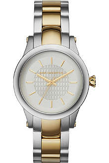 KARL LAGERFELD WATCHES KL1222 Two-toned slim chain watch