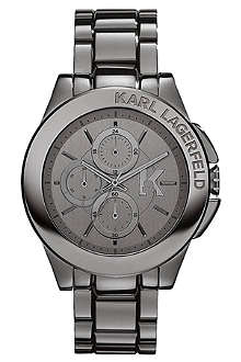KARL LAGERFELD WATCHES KL1403 stainless steel unisex chronograph watch