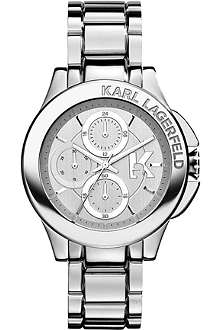 KARL LAGERFELD WATCHES KL1404 stainless steel unisex chronograph watch