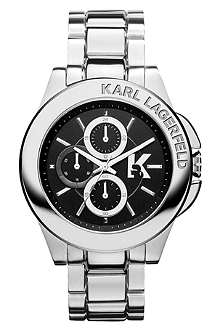 KARL LAGERFELD WATCHES KL1405 stainless steel unisex chronograph watch