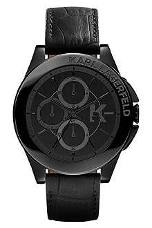 KARL LAGERFELD WATCHES Kl1406 stainless steel unisex chronograph watch