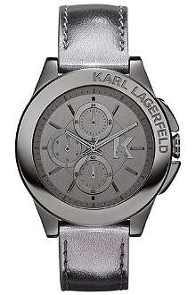 KARL LAGERFELD WATCHES KL1407 stainless steel unisex chronograph watch