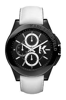 KARL LAGERFELD WATCHES KL1408 stainless steel unisex chronograph watch