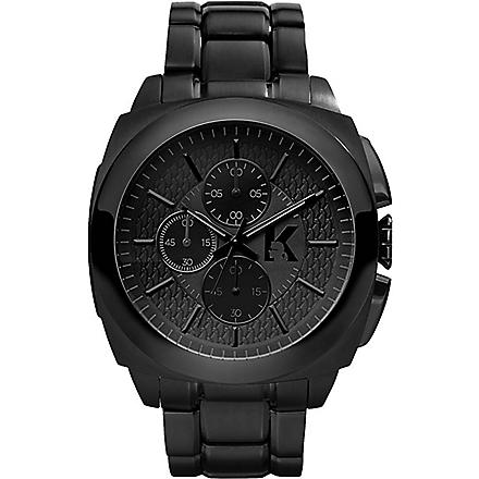 KARL LAGERFELD WATCHES KL1601 stainless steel chronograph watch (Black